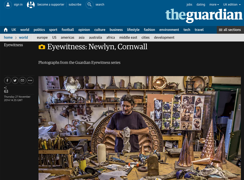 The Guardian: Eyewitness
